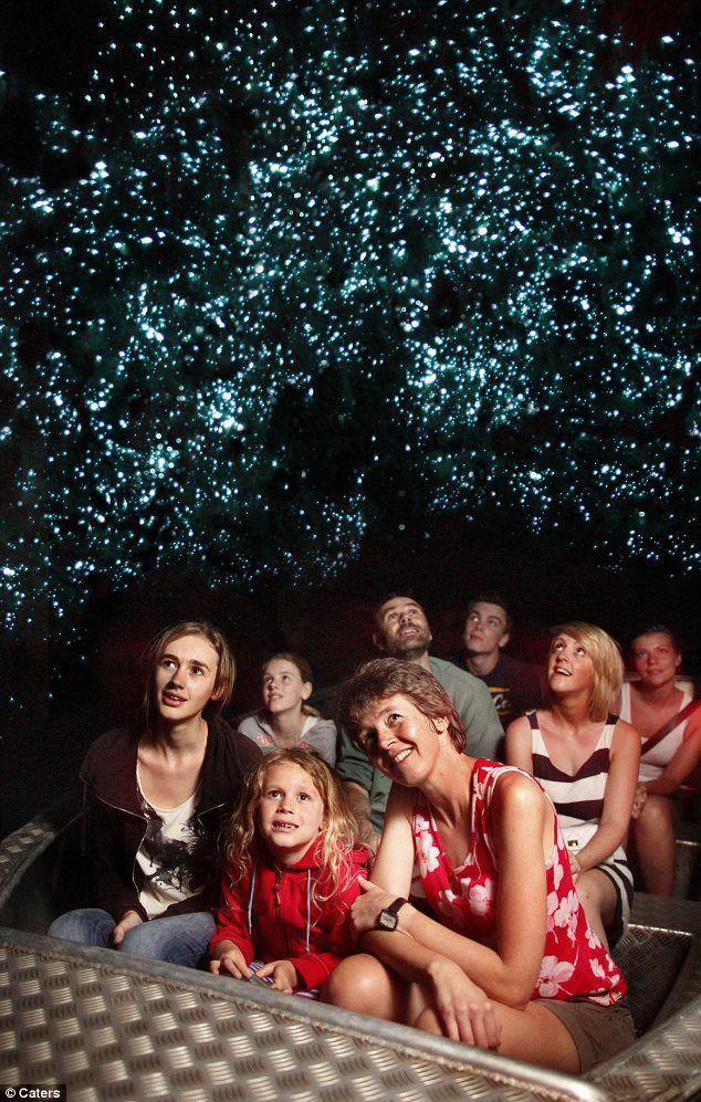 I big puffy heart glow worms! Caves in Waitomo, New Zealand.  @ robin gabel!