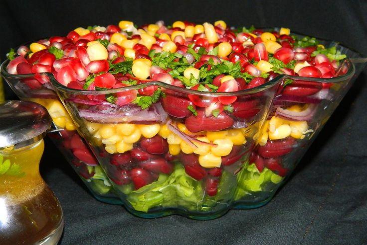 Salata de fasole rosie