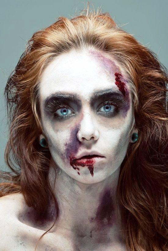 Ghost Halloween Makeup Ideas