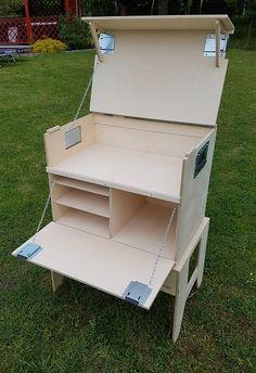 Küchenkisten Bausätze | Willi Wood — Neat Boy Scout Patrol Box - Chow Box - camp kitchen project