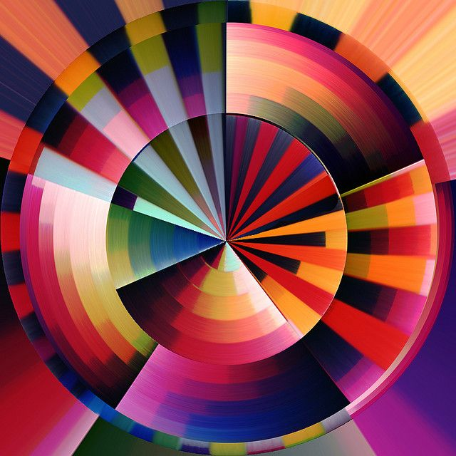 Abstract circle art | Flickr - Photo Sharing!