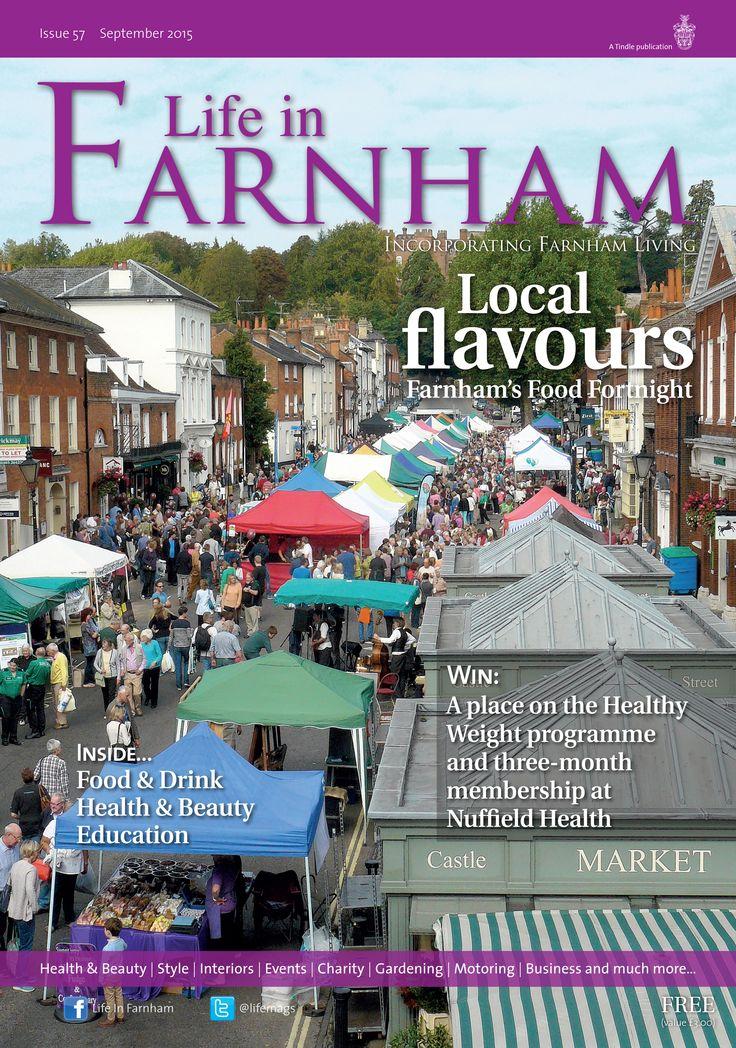 Local flavours ~ Fine local fare takes centre stage during Farnham's food fortnight... #locallife #Farnham #Surrey #food #festival #flavours #inspiration #ideas #shoplocally
