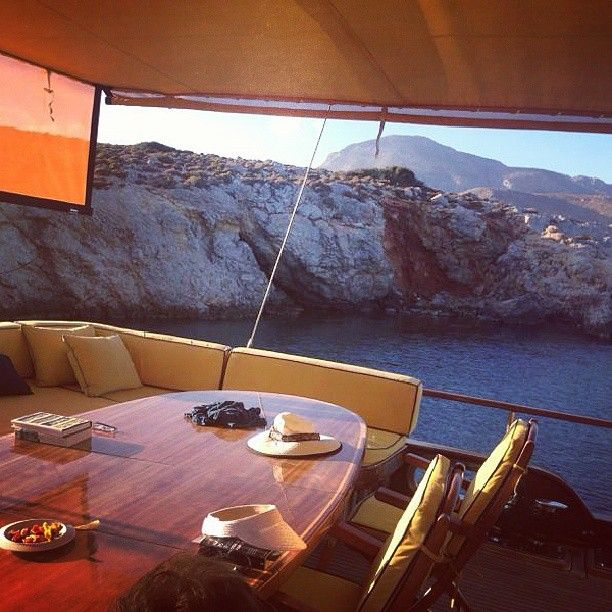 Cruising the Greek Islands in style and comfort - what other way is there? :)