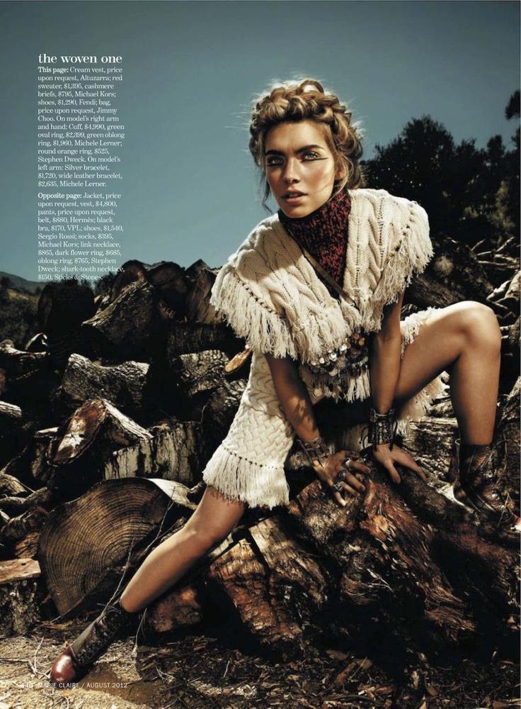 into the Wild | Emily Senko | Rennio Maifredi #photography | US Marie  Claire August