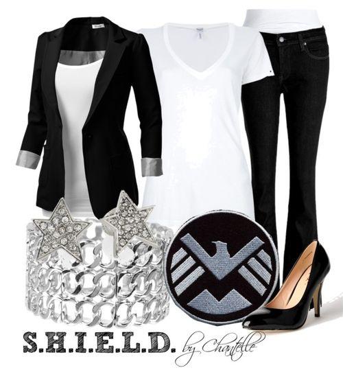 S.H.I.E.L.D. agent, I could do this with my Sherlock clothes!