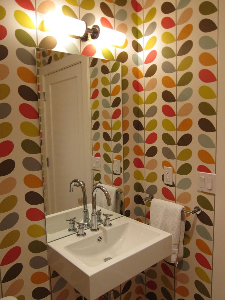 PERFECT  This is exactly what I want the downstairs loo to be like! Yes!