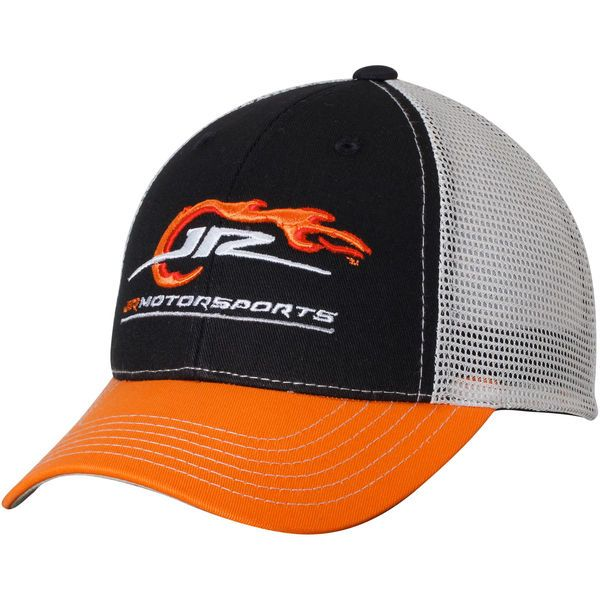 JR Motorsports Youth Logo Snapback Adjustable Hat - Black/Orange - $19.99