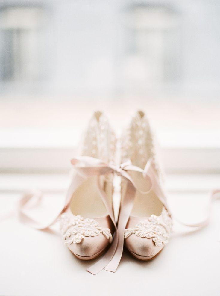 Palest Pink Bridal Shoes