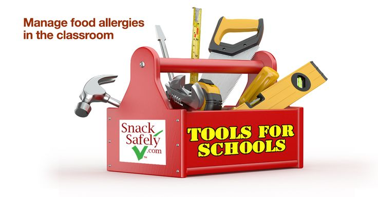 Tools for Schools: Everything a teacher, school nurse, principal or PTA organization needs to implement a successful nut-free classroom policy
