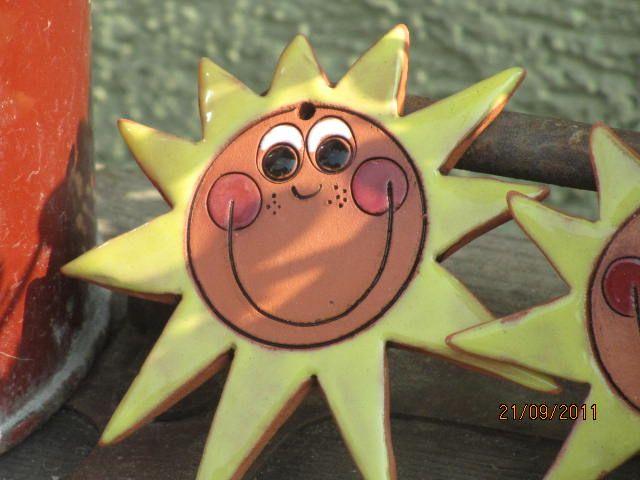 keramické sluníčko - Hledat Googlem