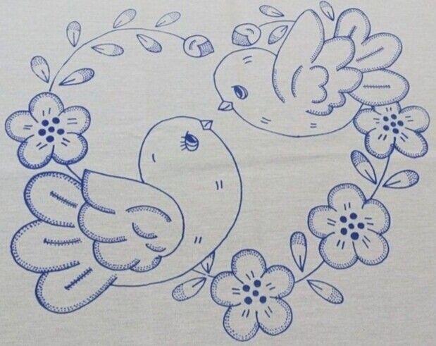 Bordados Desenhos De Flores Bordados A Mao Riscos Designs De