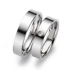 sepasang cincin platina dengan berlian cincindepok.com