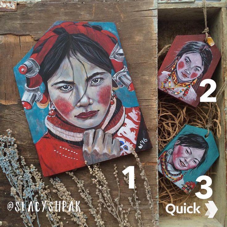 175 отметок «Нравится», 16 комментариев — Портреты Этно Ethno Tibet (@stacyshpak) в Instagram: «Номер 3 в наличии 600р доставка бесплатная !! Всем хороших выходных!»