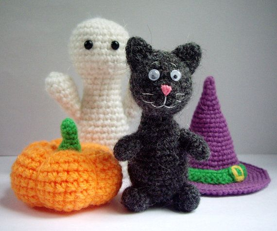 Free Amigurumi Halloween Patterns : Best images about crochet halloween and fall on