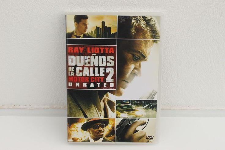 DUEÑOS DE LA CALLE 2 ( STREET KINGS 2 MOTOR CITY ) - DVD - RAY LIOTTA