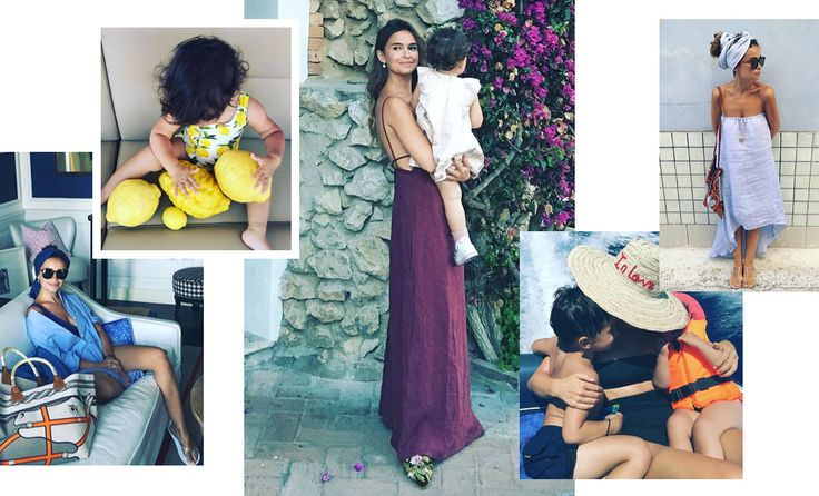 Хитро закрученные тюрбаны, соломенные шляпы с огромными полями, льняные платья, и сумку-баул Hermès миниатюрная it girl носит этим летом круче всех