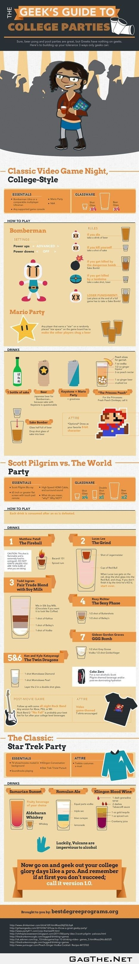 How Geeks Party Hardy