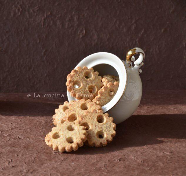 frollini integrali con farina di mais