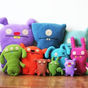 Meet the Ugly Dolls. Sizes: Big Ugly, Little Ugly and Tiny Ugly #monsters #cutemonsters #plushies