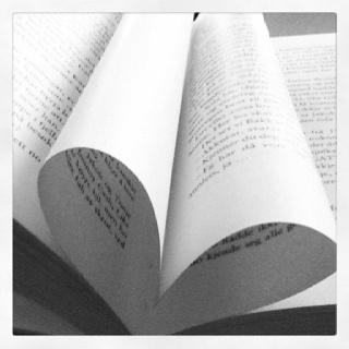 #book #heart