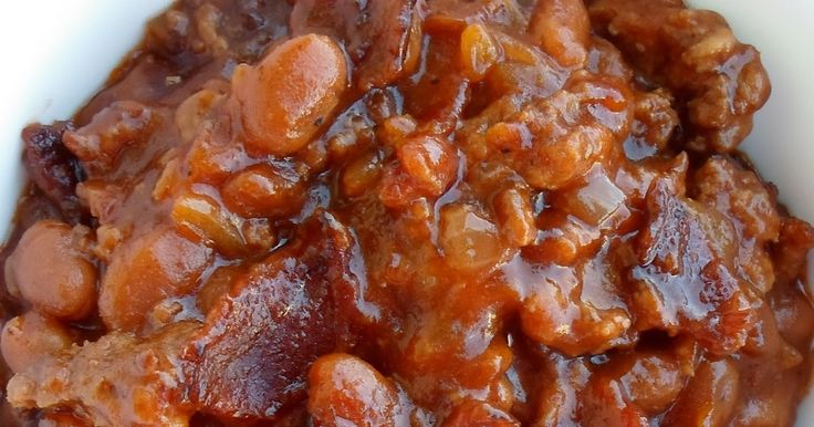 """If you've been reading Pig In Mud for a while you know I love beans! As soon as I saw the words """"bean"""" and """"casserole"""" in the July 2013 Issu..."""