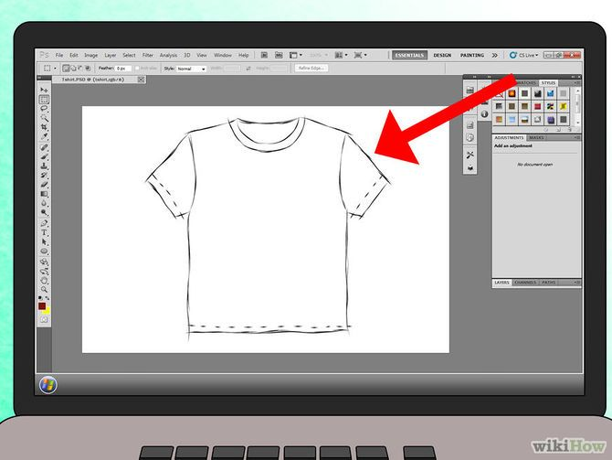 5 Ways to Design Your Own T Shirt - wikiHow