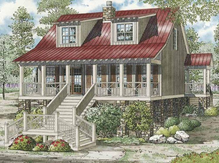 448 best favorite places spaces images on pinterest for Unique country house plans
