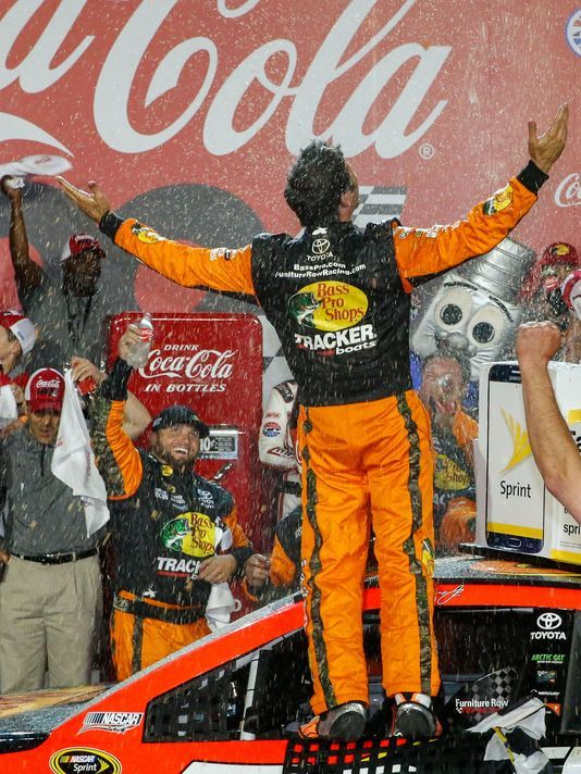 Martin Truex Jr. wins Coca-Cola 600 in record-setting fashion