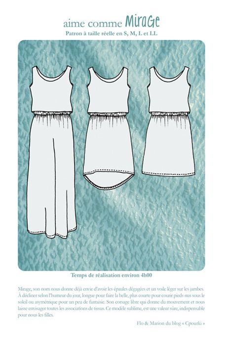 Aime comme Mirage - New oustanding pattern by Aime comme Marie !