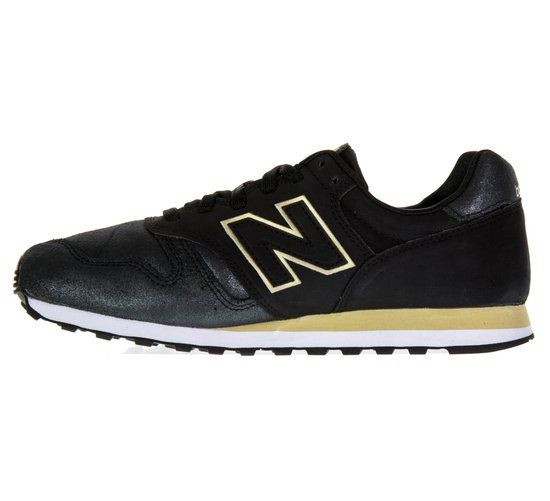 New Balance Classics Traditionnels Sneaker Dames  Sportschoenen - Maat 38 - Vrouwen - zwart/geel