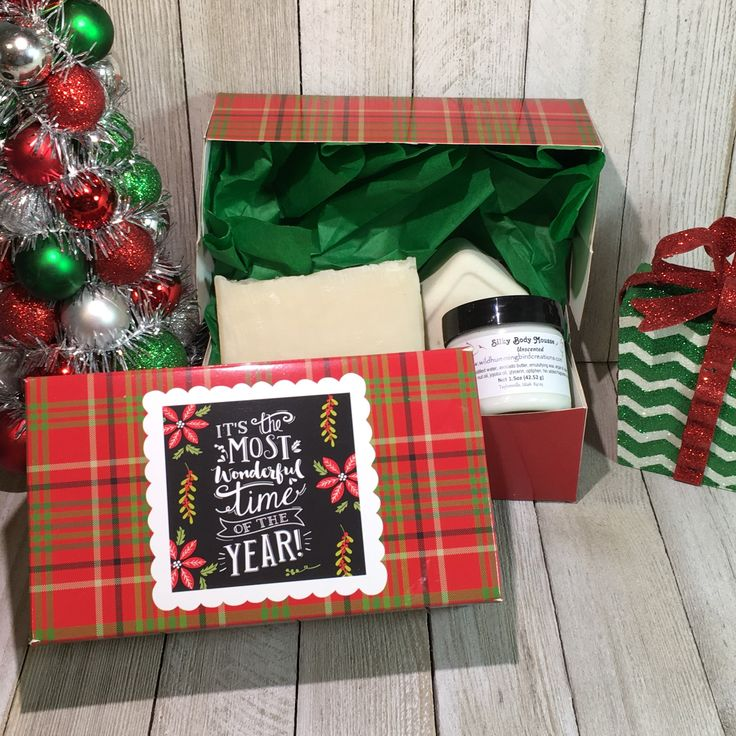 Holiday Unscented Soap Bath and Body Combo