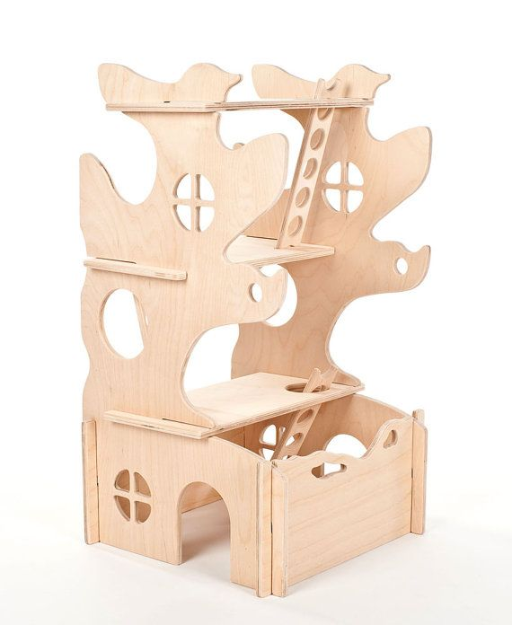 Modular tree house, Montessori and Waldorf inspired by manzanitakids on Etsy