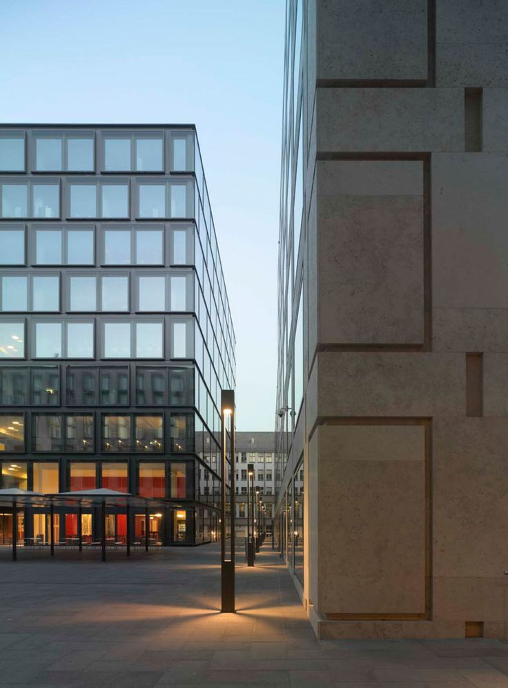 Max Dudler Architekt, Stefan Müller · Europaallee Zurich · Divisare