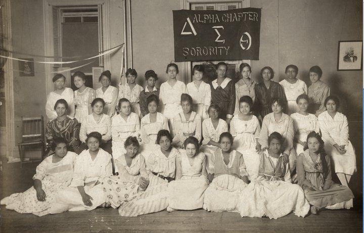 Alpha Chapter of Delta Sigma Theta Sorority, Inc. (circa 1916)
