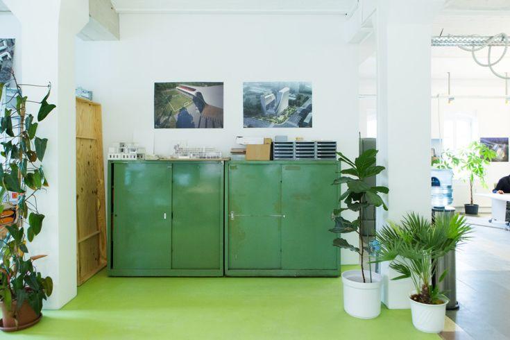 Freunde von Freunden — Tobias Wallisser & Leonie Woidt-Wallisser — Architects, Königstadt Brewery, Mitte, Berlin — http://www.freundevonfreu...