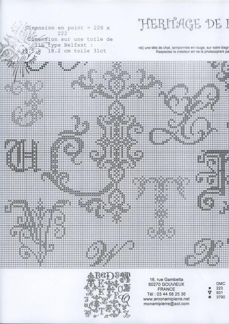 Heritage Letters Sampler • 4/5 Lower LHS Corner