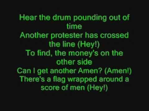 Green Day - Holiday with lyrics!