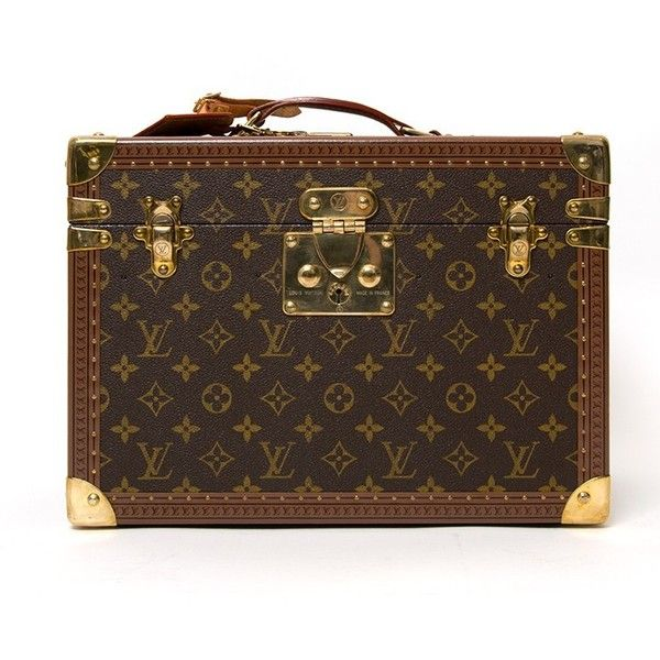 Louis Vuitton Toiletry Case ($3,055) ❤ liked on Polyvore featuring beauty products, beauty accessories, bags & cases, makeup purse, make up purse, cosmetic bags & cases, louis vuitton makeup bag y travel bag
