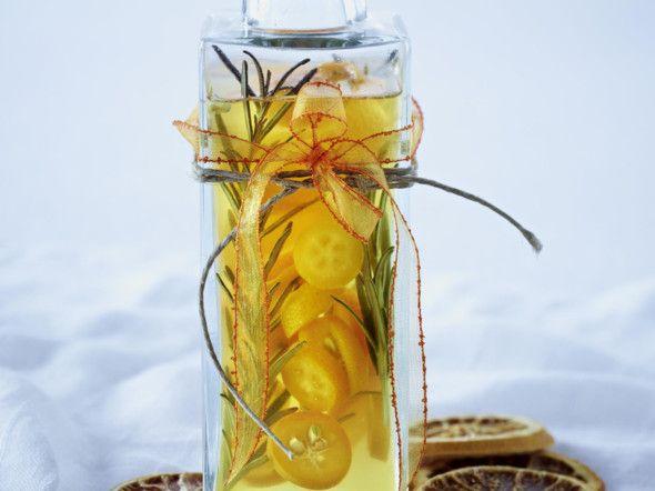 Orangenessig Rezept
