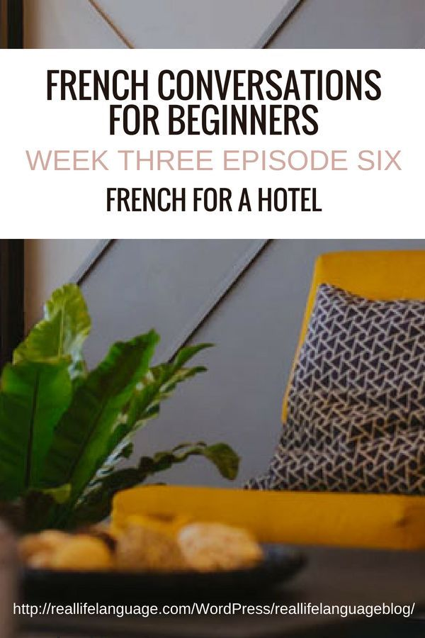 Week Three Episode Six | French Language Learning | French