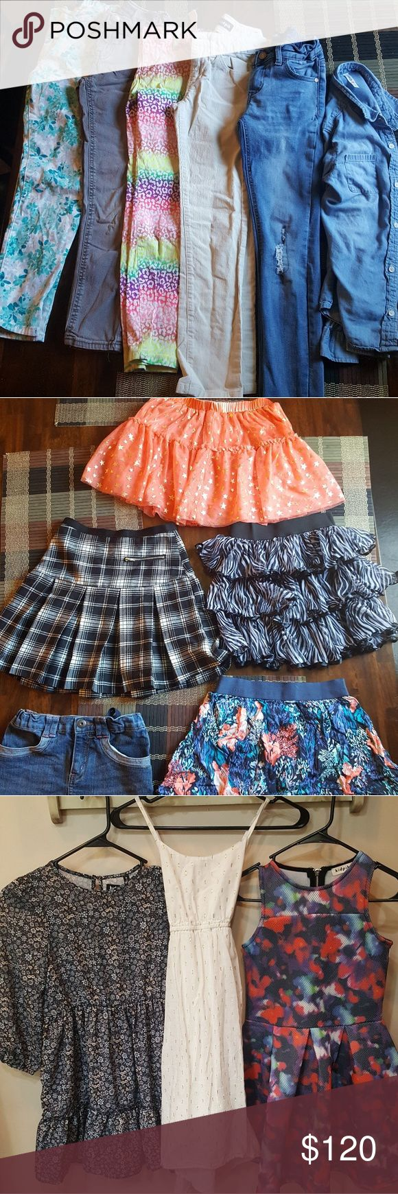 Girls 8/10 clothing Kidpik, fabkids, old navy, children's place, and crazy 8 brands Dresses Casual