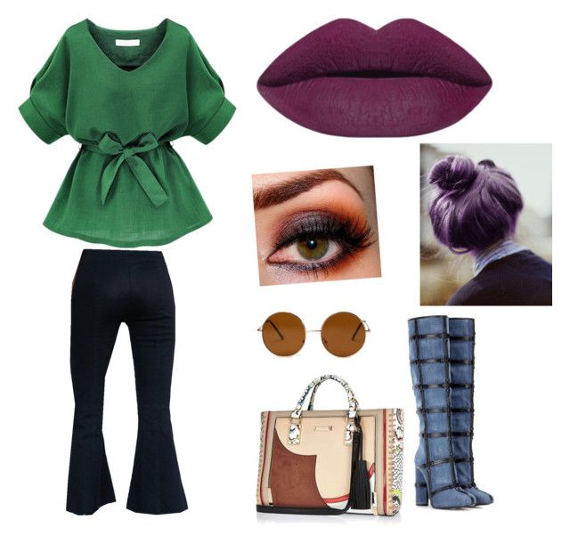 """""""something i would never wear"""" by fabulouschloe on Polyvore featuring BDG, Tom Ford, River Island, Forever 21, women's clothing, women, female, woman, misses and juniors"""