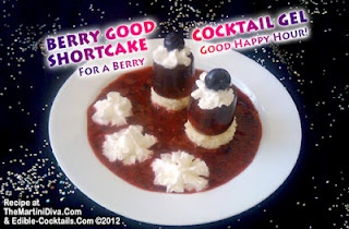 Let's Put the Last of the Summer Berries to Good Use!!!>> BERRY SHORTCAKE JELLY SHOT COCKTAIL GEL RECIPE - click the image for the instructions & ingredients.