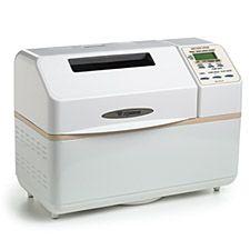 Zojirushi CEC-20 Home Bakery Supreme Bread Machine - White  I prefer not to use a machine but I really like Zo.