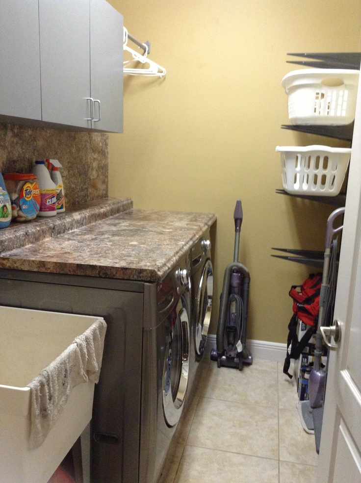 Now I Have A Functional And Organized Laundry Room With A Cabinet