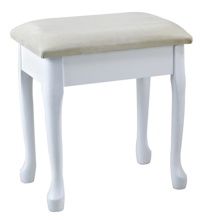 Lily Wooden Dressing Stool