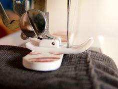 Ideal para poder coser sobre capas gruesas de tela