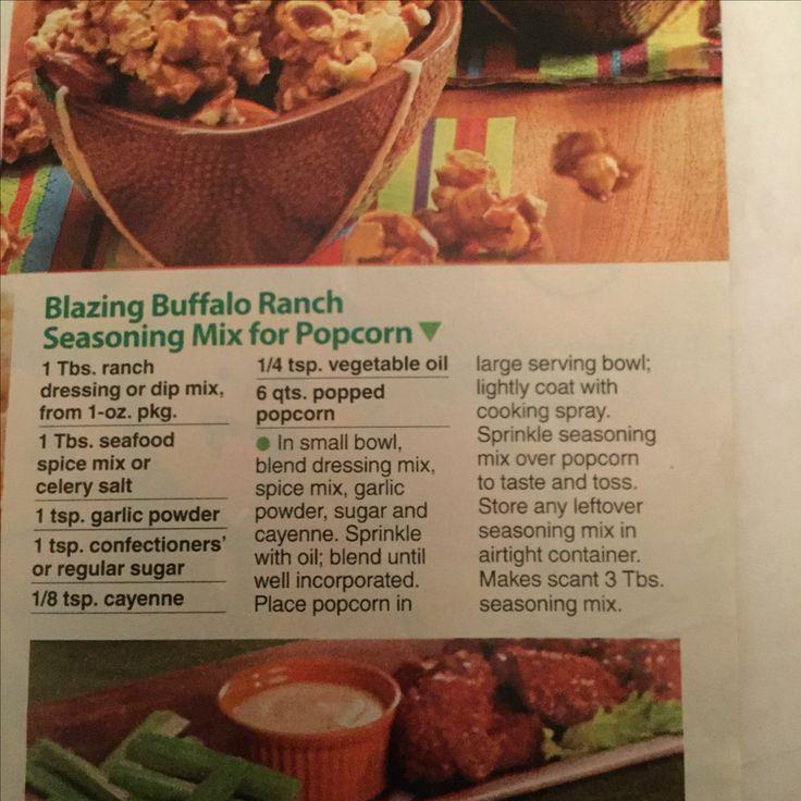 Buffalo ranch popcorn seasoning popcorn seasoning