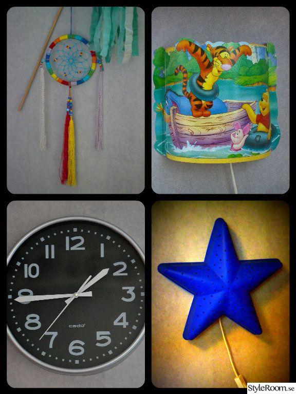 vägglampa barnrum,färg,barnrum,väggklocka
