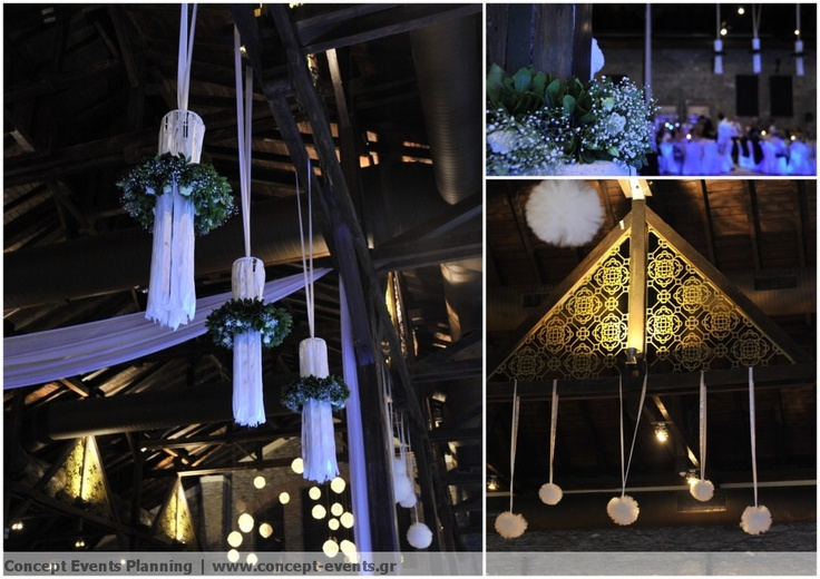 Wedding reception decor by Concept Events Planning | www.concept-events.gr